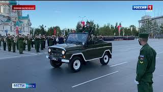 На Соборной площади прошла репетиция Парада Победы — прямое включение