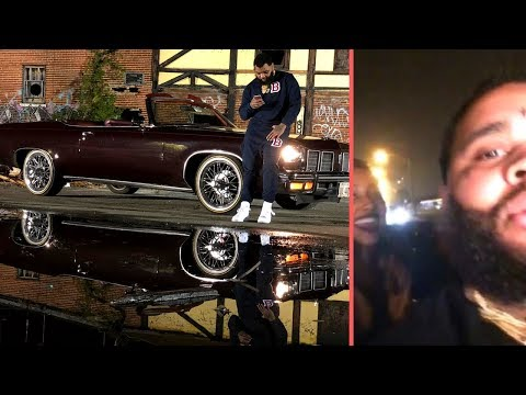 Kevin Gates Riding Through Chicago With The Top Down On His