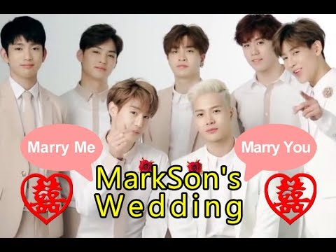 [FMV/ENG SUB/中字] We Got Married (#MARKSON or never) #JARK -Best Wedding Love Moments ❤
