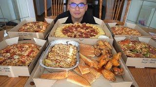 PIZZA HUT PIZZA PARTY!!!!!!!