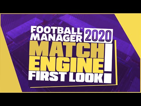Football Manager 2020 - FM20 Match Engine First Look! / Honest review..