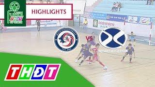 Highlights Futsal 2018 | Bán kết 2: Bạch Mai Cần Thơ - Bảo hiểm Xuân Thành Đồng Tháp | THDT