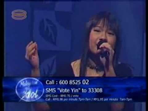 20040806 符瓊音 Meeia Foo - Colors Of The Wind (Vanessa Williams) @Malaysian Idol 1