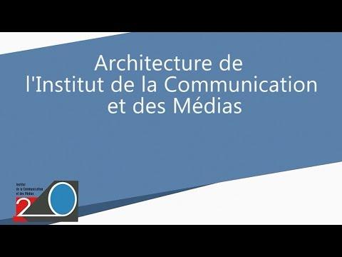 Vingt ans de l'ICM : l'architecture du bâtiment