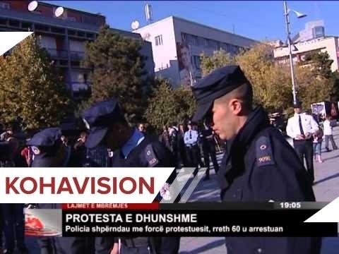 LAJMET E MBREMJES KTV 22.10.2012 - PROTESTA VV