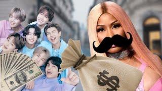 Celebrities Robbing a Bank