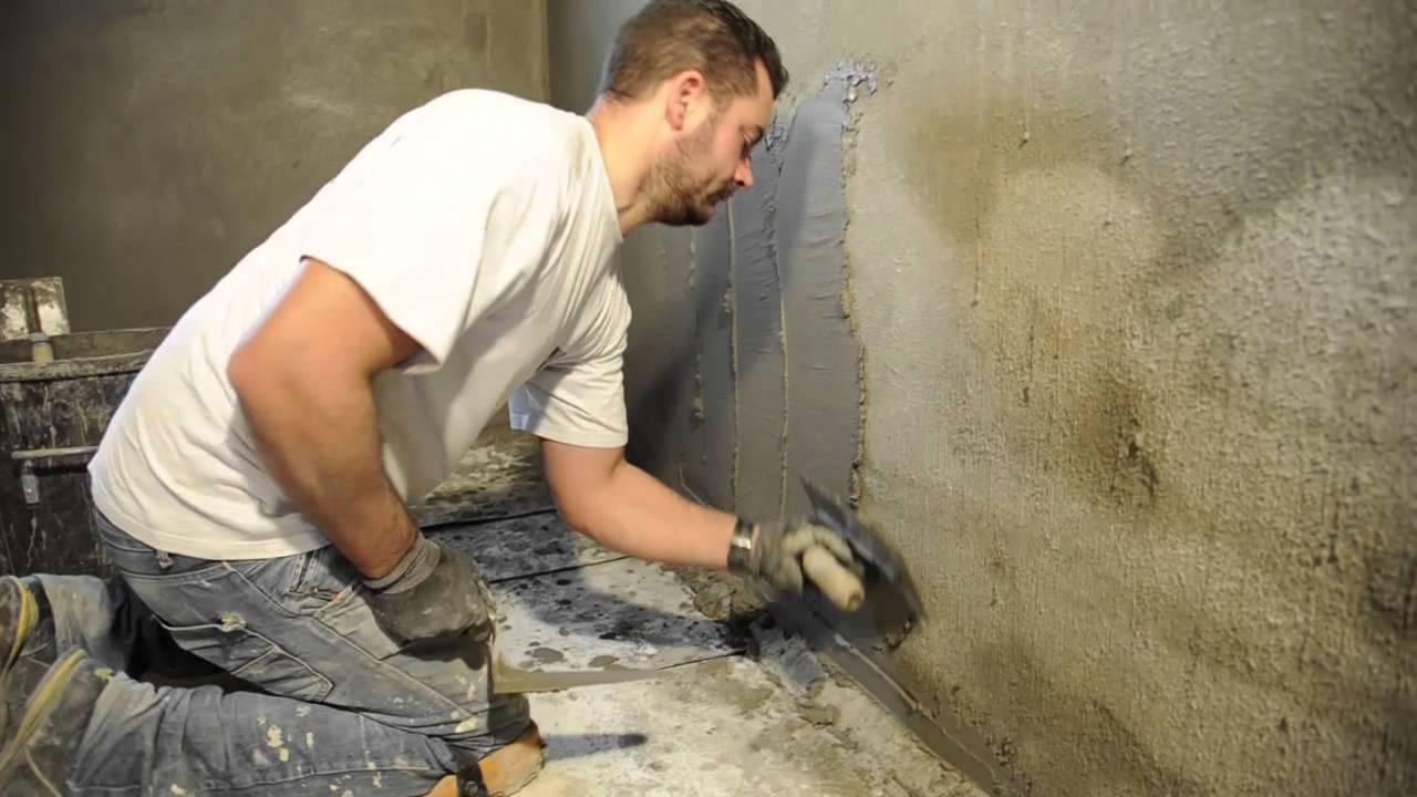 cuvelage des murs enterr s par uab renovation youtube. Black Bedroom Furniture Sets. Home Design Ideas