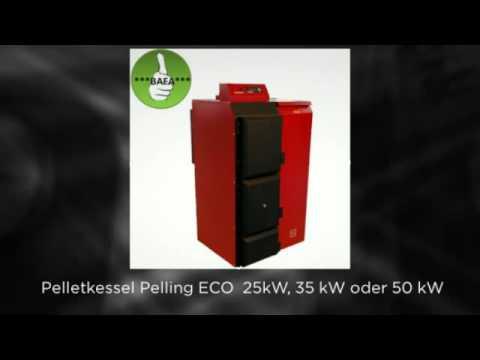 Pelletkessel Pelling 25 ECO 135 Kg +Pellet+BAFA förderbar Komplettset 1