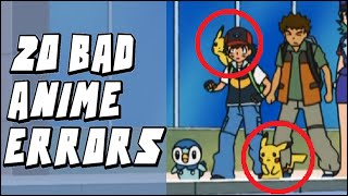 20 of the WORST Errors/Mistakes in the Pokemon Anime