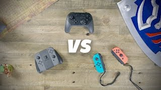 Nintendo Switch Joy-Cons vs Pro Controller