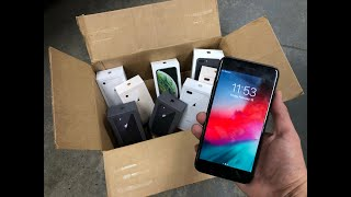 FOUND WORKING IPHONE 8 PLUS!! APPLE STORE DUMPSTER DIVING!!!