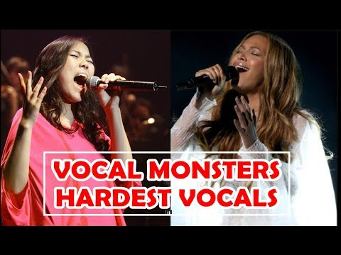 VOCAL MONSTERS - HARDEST VOCALS