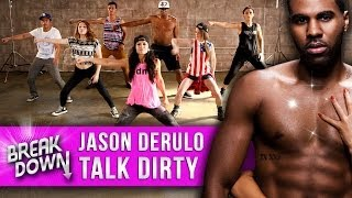 "Jason Derulo – ""Talk Dirty"" Music Video Dance Tutorial – Clevver Breakdown"