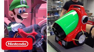 Luigi's Mansion 3 - Behind the Poltergust G-00 with Volpin Props