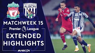 Liverpool v. West Brom | PREMIER LEAGUE HIGHLIGHTS | 12/27/2020 | NBC Sports