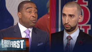 Nick and Cris react to Tiger's comments about LeBron James | NBA | FIRST THINGS FIRST