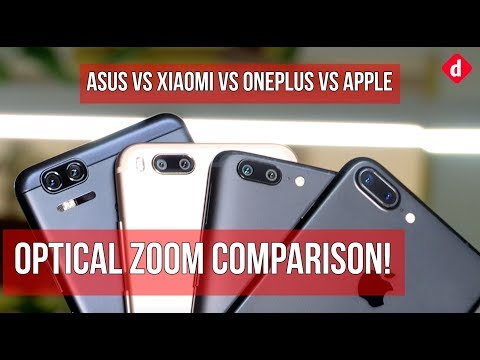 Apple iPhone 7 Plus vs OnePlus 5 vs Asus Zenfone Zoom S vs Xiaomi Mi A1  Digitin