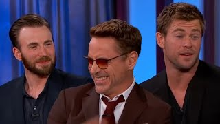 Avengers Cast FUNNY MOMENTS