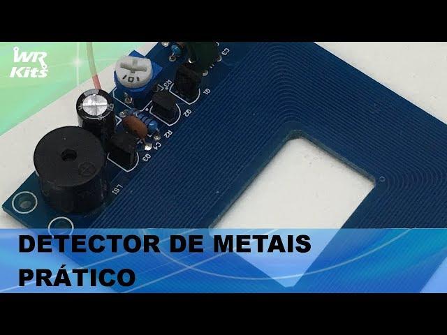 DETECTOR DE METAIS PRÁTICO