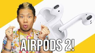 Apple AirPods 2 Reactions!...AirPods 1.5?