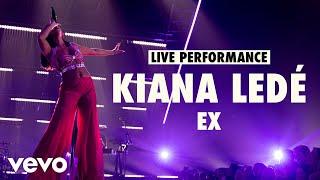 Kiana Ledé - EX (Live) | Vevo LIFT Live Sessions