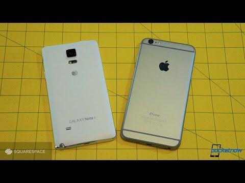 Baixar Galaxy Note 4 vs iPhone 6 Plus