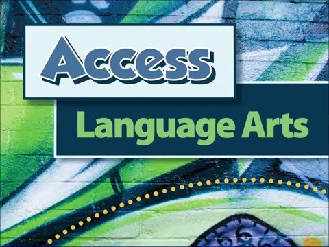 Access Language Arts: App Tutorial
