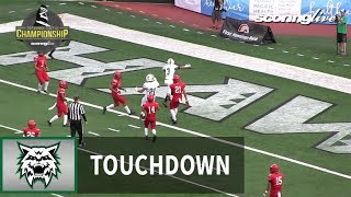 Konawaena vs. Lahainaluna: H. Wehrsig, 12-yd TD pass from A. Ewing - HHSAA D2 Championship (2017)