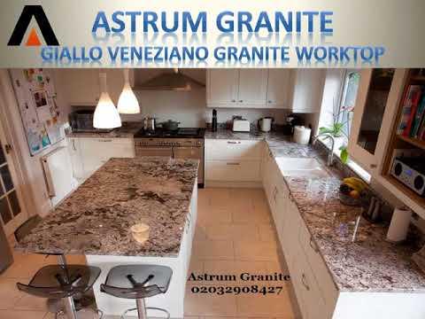 Giallo Veneziano Granite Kitchen Worktop London UK - Astrum Granite