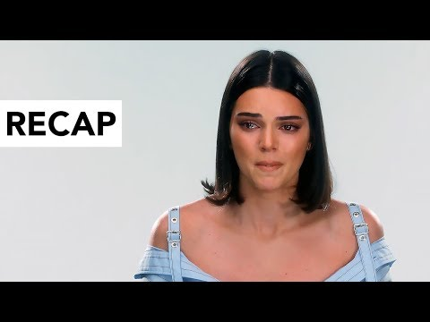 Kendall Jenner Breaks Down In Tears Over Pepsi Ad - KUWTK Recap