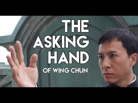 The Asking Hand of Wing Chun