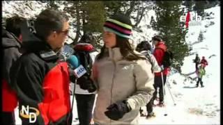 Video de raquetas de nieve