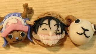 One Piece Nerikiri (Rice Dough & Sweet Bean Paste) Snacks