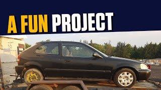 The $300 Honda Civic - 200 Days of Progress