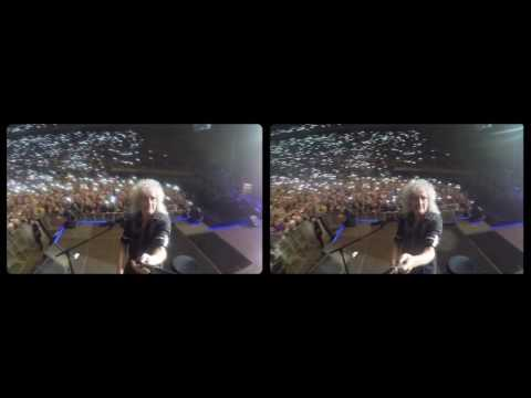 Selfie Stick Video |3-D| Barcelona, Palau Sant Jordi [May 22, 2016] - Brian May