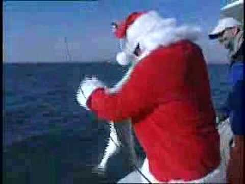 Дед Мороз тоже РЫБАК!!!