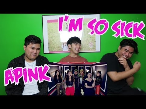 APINK - IM SO SICK MV REACTION (PINK PANDA FANBOYS)