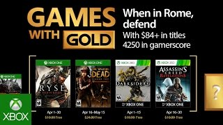 Assassins and zombies joining Xbox Games with Gold in April