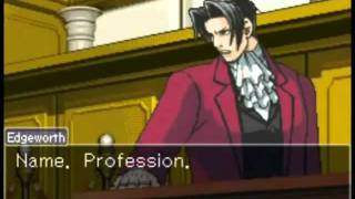 Edgeworth Has Trouble Getting Names