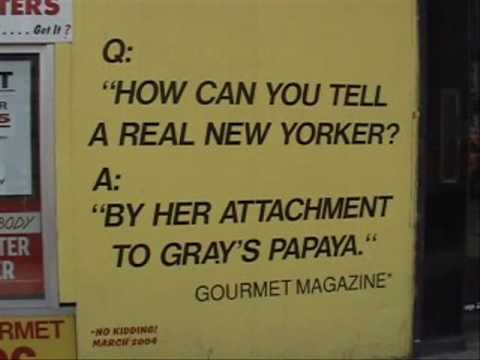 Ben's Tours--Gray's Papaya, NYC