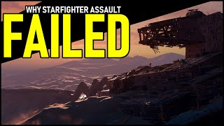 Why Battlefront II's Starfighter Assault failed... and what EA can learn
