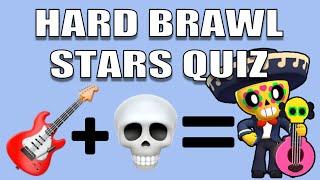 Guess The Brawler Quiz | Hard Brawl Stars Quiz