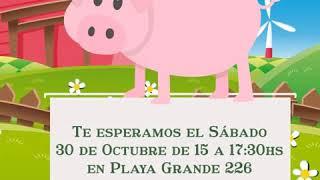 Crea tu invitación Baby Shower de Animalitos de la Granja 480p 25fps H264 128kbit AAC