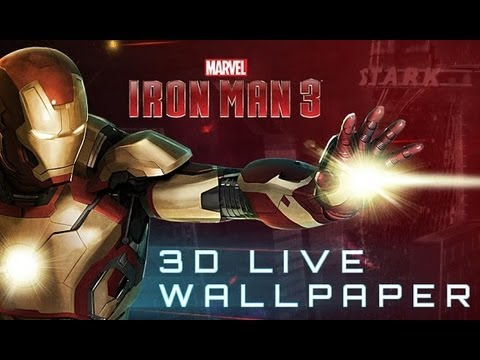 Iron Man 3 Live Wallpaper Video