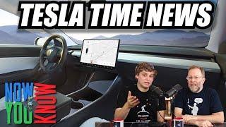 Tesla Time News - New Tesla v9 Autopilot Features!!!