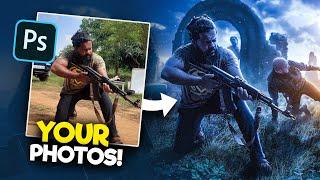 Editing YOUR Photos in Photoshop!   S1E2