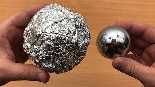 DIY Mirror Polished Japanese Aluminum Foil Ball