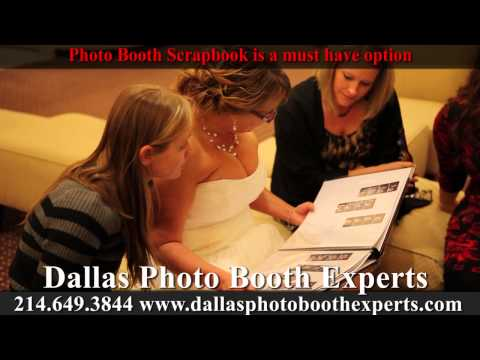 Photo Booth Scrapbook option from Dallas Photo Booth Experts