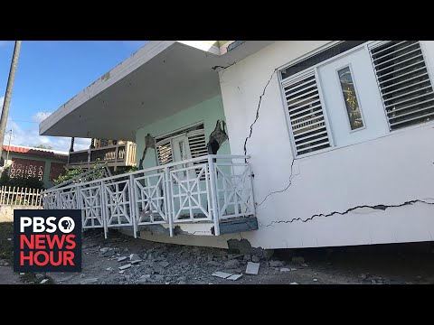 News Wrap: Puerto Rico lacks power, running water after strong earthquake