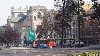 Walking in Santiago de Chile ( Chile)